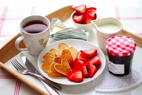Dia dos Namorados Original - pequeno-almoço