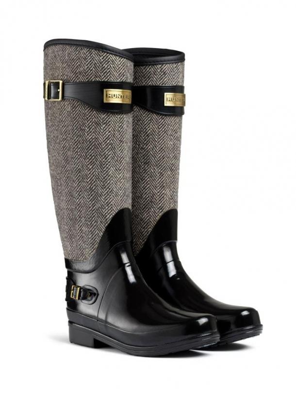 f1d734daa49 A Hunter Wellington é uma das marcas de galochas mais procuradas pelo  público feminino. Conhecida pelo design da bota e pela qualidade da borracha
